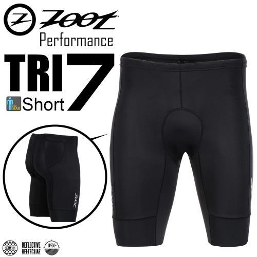 ZOOT 專業級 7吋肌能鐵人褲(男)-經典黑