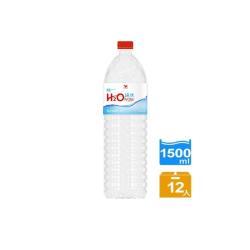 H2O Water純水1500mlx12入