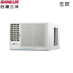 加碼送★ SANLUX台灣三洋 3-5坪定頻左吹窗型冷氣 SA-L22FEA