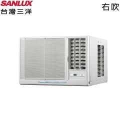 加碼送★SANLUX台灣三洋 3-5坪定頻右吹窗型冷氣 SA-R22FEA