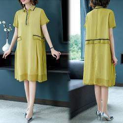 韓國K.W. (預購) 明星款清新印象洋裝