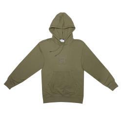 Timberland男款橄欖綠LOGO休閒連帽衛衣A1YGTQ69