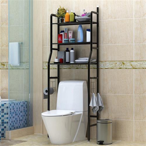 Mr.J家居生活 浴廁馬桶落地收納置物層架