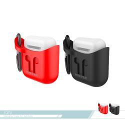 TOTU拓途 無線耳機保護套(F-014) AirPods適用/ 收納套/ 矽膠套/ 運動/ 防摔抗震