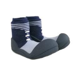 韓國Attipas快樂學步鞋-英倫紳士藍