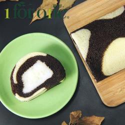 [1 for one]巧克力鮮奶凍捲(420g/條)(共3條)