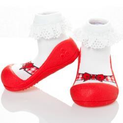 韓國Attipas快樂學步鞋-芭蕾紅