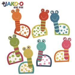 【JAKO-O德國野酷】創意手作窗貼組(7入)–蝸牛