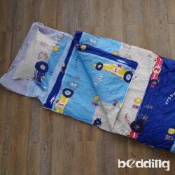 BEDDING-幼稚園必備-兒童冬夏兩用鋪棉睡袋-瘋狂賽車