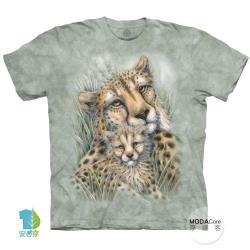 摩達客(預購)美國進口The Mountain獵豹窩 純棉環保藝術中性短袖T恤