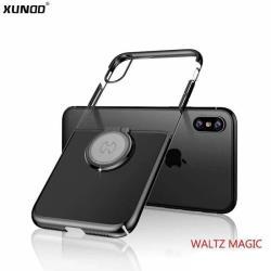 XUNDD 華爾滋系列 iPhone X/XS 魔吸指環立架保護殼