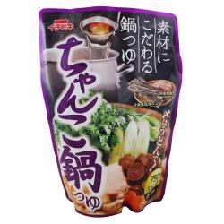 暖呼呼上市83折 日本イチビキ ichibiki  日式火鍋湯底 雞汁昆布風味 750ML