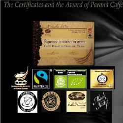 [PARANA 義大利 歐洲品鑑協會金牌獎咖啡豆] 半磅
