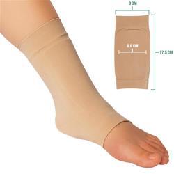 JHS杰恆社彈性凝膠套冰鞋襯墊保護花樣滑冰騎馬靴的冰鞋咬傷護腳後跟保護套abe77 預購