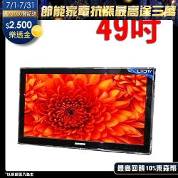 台灣製~49吋-高透光液晶螢幕 電視護目(防撞保護鏡)     RANSO 系列