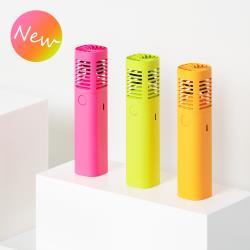 韓國sillymann 攜帶型風棒電扇-螢光色系列