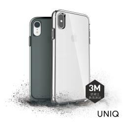 UNIQ Clarion iPhone XS Max 軍規認證3米雙料透明防摔殼-透明