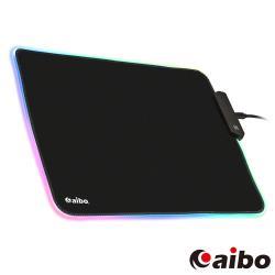 aibo RGB幻彩發光電競鼠墊