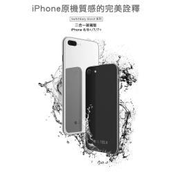 Switcheasy Glass X 鏡面玻璃殼 for iPhone 7/8 Plus 5.5 黑/白