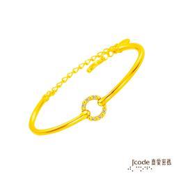 Jcode真愛密碼 完美愛戀黃金手環