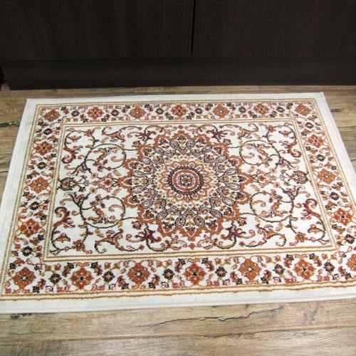 范登伯格-紅寶石歐式新古典風格比利時進口絲質地毯/地墊_50x70cm 宮廷米