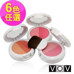 【韓國 VOV】粉紅派對腮紅6gx1