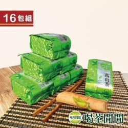 喝茶閒閒 嫩綵清泉高山烏龍茶 4斤共16包