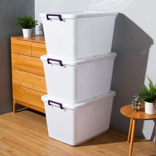 HOUSE-D1200滑輪整理箱LL110L(3入)