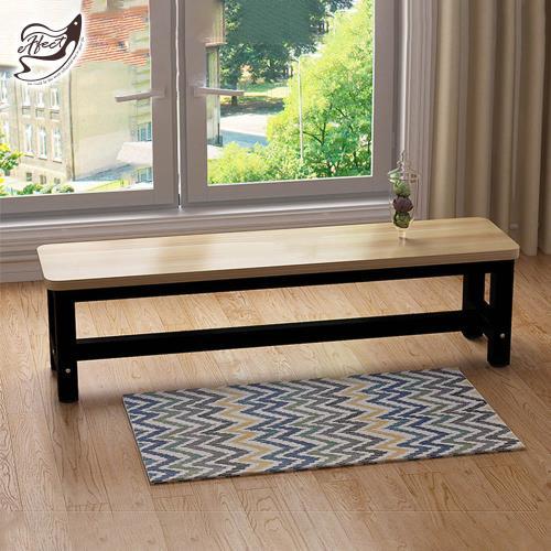 【Effect】簡約時尚多功能換鞋椅長凳(120*30*45cm)/