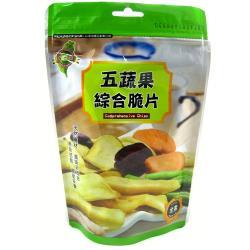 喜仕嘉五蔬果綜合脆片80g
