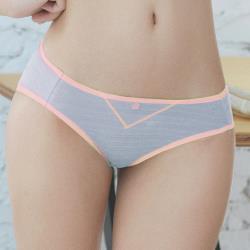 【U&Z】冰咖啡女孩 低腰三角褲(粉嫩紫)-台灣奧黛莉集團