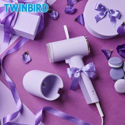 日本TWINBIRD-高溫抗菌除臭 美型蒸氣掛燙機(丁香紫)TB-G006TWPU