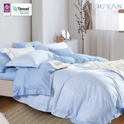 DUYAN竹漾- 天絲雙人床包三件組-初晴海風