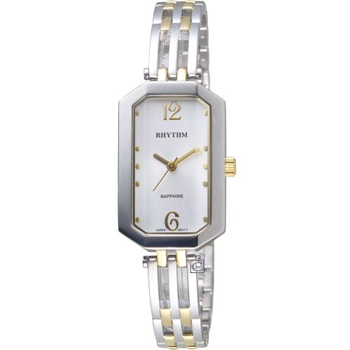 RHYTHM知性品味時尚腕錶(LE1612S03)-22x35mm/