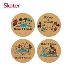 任-Skater杯墊-米奇 4入一組