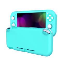 Nintendo 任天堂 Switch Lite 霧面磨砂全包覆保護套 藍綠