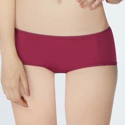 【瑪登瑪朵】Soft Up  低腰平口萊克褲(莓紫)
