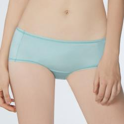 【瑪登瑪朵】Soft Up  低腰平口萊克褲(輕漾綠)