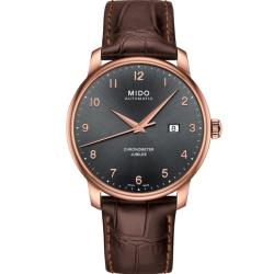 MIDO Baroncelli  天文台認證機械錶(M0376083606200)42mm