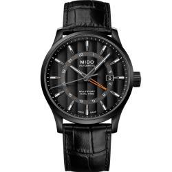 MIDO美度 Multifort 夜行俠兩地時區機械錶(M0384293605100)42mm