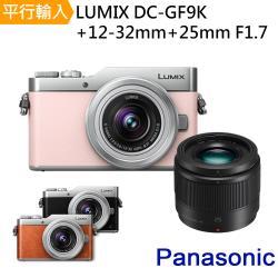 【128G副電單眼包】Panasonic DMC-GF9K+12-32mm+25mm F1.7 雙鏡組 (中文平輸)