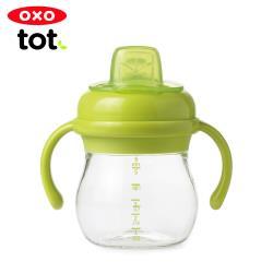 【OXO】 tot 寶寶握鴨嘴杯-青蘋綠(原廠公司貨)