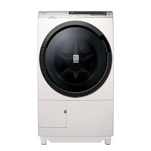 日本原裝HITACHI日立11.5公斤洗脫烘滾筒洗衣機窄版右開