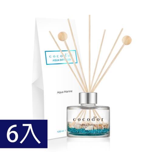 韓國cocodor海藍寶石系列擴香瓶(6入)-多款香味可選/