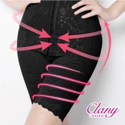 【可蘭霓Clany】560丹重機能塑腹M-2XL俏臀褲(神秘黑 1923-63)