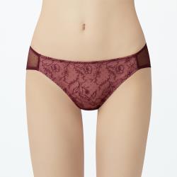 【瑪登瑪朵】無比集中 低腰三角網褲(蝴蝶紫)