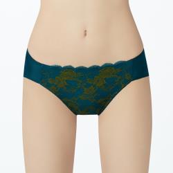 【曼黛瑪璉】雙弧 低腰三角內褲(海洋綠)