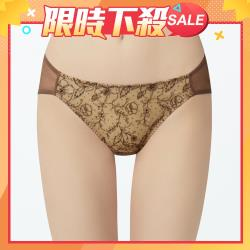 【瑪登瑪朵】無比集中 低腰三角網褲(享樂棕)