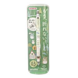 日本製造ZEBRA不斷芯DelGuard自動鉛筆0.5mm鉛筆龍貓P-MA85-TTR-19S-G宮崎駿Totoro豆豆龍