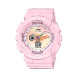 【CASIO 卡西歐】BABY-G紮染圖紋系嫩粉色澤耐衝擊手錶(BA-120TG-4A)